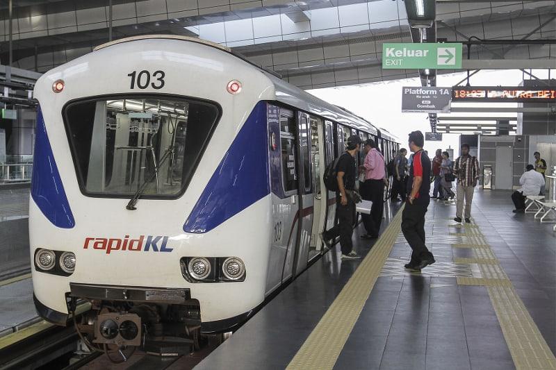 LRT Train igcse contact us igsce tuition subang station